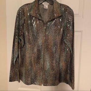 Misook zippered jacket